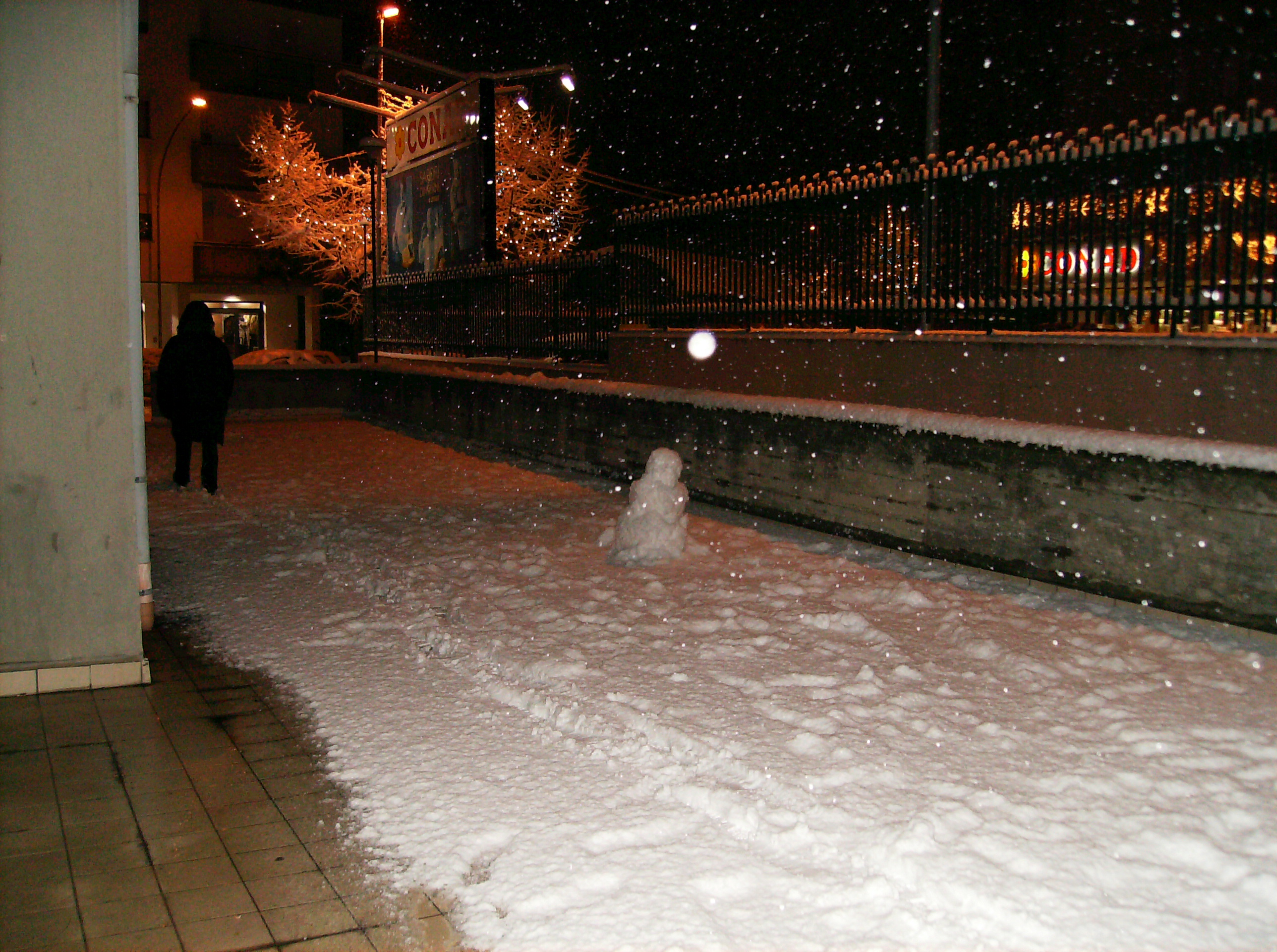 pupazzo di neve